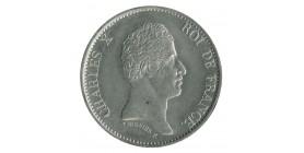 40 Francs Charles X Essai Uniface Etain