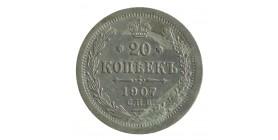 20 Kopecks Nicolas II - Russie Empire Argent