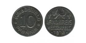 Kriegsgeld- 10 Pfennig Allemagne - Monnaie de Necessite