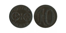 Stadt Mainz- 10 Pfennig Allemagne - Monnaie de Necessite