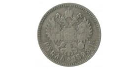 1 Rouble Nicolas II - Russie Empire Argent