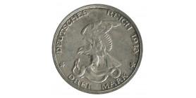 3 Marks 100e Anniversaire de la Défaite de Napoléon - Allemagne Prusse Argent