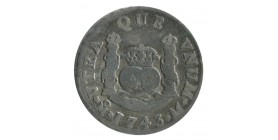 2 Reales Philippe V - Mexique Argent