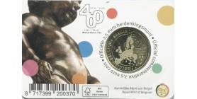 2,50 Euros commémorative Belgique 2019