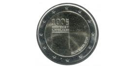 2 Euros Commémorative Slovénie 2019