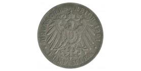 5 Marks - Allemagne Hambourg Argent