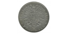 5 Marks Albert - Allemagne Saxe Argent