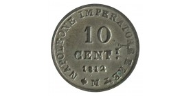 10 Centisimi Napoléon Imperator - Italie Occupation Française