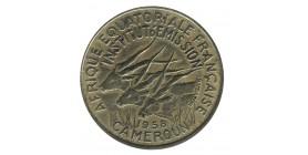 25 Francs - Afrique Equatoriale Cameroun