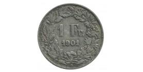 1 Franc - Suisse Confédération Argent