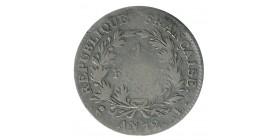 1 Franc Bonaparte 1er Consul