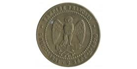 Médaille Satirique Napoléon III Le Misérable - 80000 Prisonniers Vampire Français