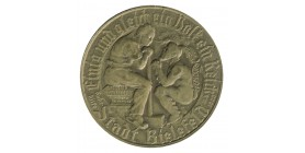 Médaille Bismarok 11Août 1923 - Allemagne Bronze
