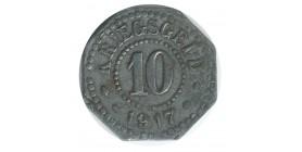 10 Pfennig - Allemagne Saarburg