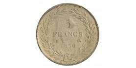 5 Francs Louis-Philippe Sans le I Concours de 1830/31 Essai en Carton