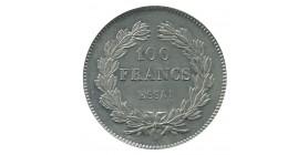 """100 Francs Louis-Philippe Ier Concours de 1830/31 Par """"Domard"""" Essai en Etain"""