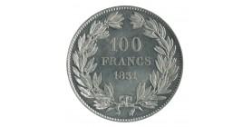 """100 Francs Louis-Philippe Ier Concours de 1830/31 Par """"Galle"""" Essai en Etain"""