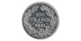 """100 Francs Louis-Philippe Ier Concours de 1830/31 Par """"Tiolier"""" Essai en Etain"""