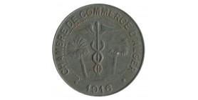 10 Centimes Chambre de Commerce d'Alger - Algérie