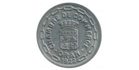 25 Centimes Chambre de Commerce d'Oran - Algérie