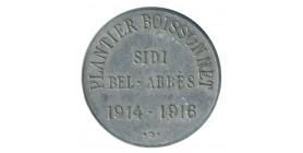 10 Centimes Sidi-Bel-Abbès Horlogerie Plantier Boissonnet - Algérie
