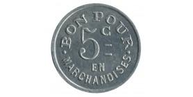 Bon pour 5C en Marchandise Chambre Syndicale Boulangerie - Chalon sur Saône