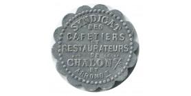 Bon pour 10C en Consommation Syndicat des Cafetiers et Restaurateurs - Chalon sur Saône