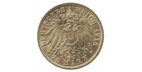 20 Marks Frederic III - Allemagne Bade