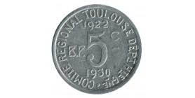 5 Centimes Union Latine Comité du Sud Ouest - Toulouse