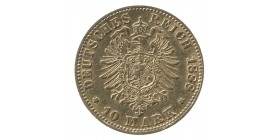 10 Marks Frederic III - Allemagne Prusse