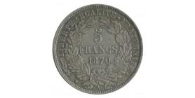 5 Francs Cérès Avec Légende