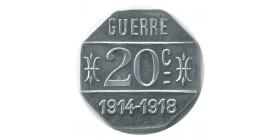 20 Centimes Café Terminus A.Parrain - Issoire