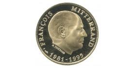 Médaille François Mitterand OR