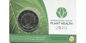 2 Euros Commémoratives Belgique 2020