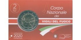 2 Euros Commémoratives Italie 2020 B.U.
