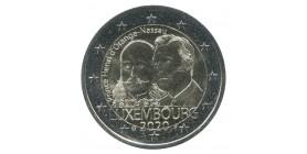 2 Euros Commémoratives Luxembourg 2020 - Prince Henri