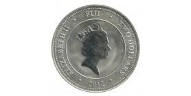 2 Dollars Iles Fidji Argent