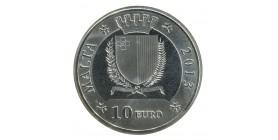 10 Euros - Malte Argent