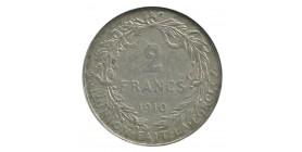 2 Francs Albert Ier - Belgique Argent