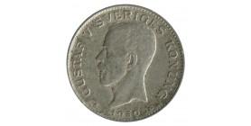 1 Couronne Gustave V - Suède Argent