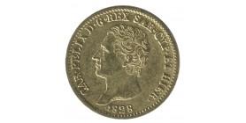 20 Lires Charles Felix - Italie Sardaigne