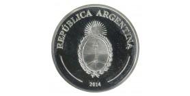 5 Pesos El Payador - Argentine Argent