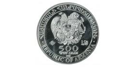 500 Dram Arche de Noé - Arménie Argent