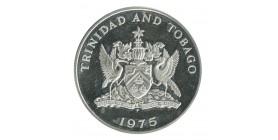 5 Dollars Trinité et Tobago Argent
