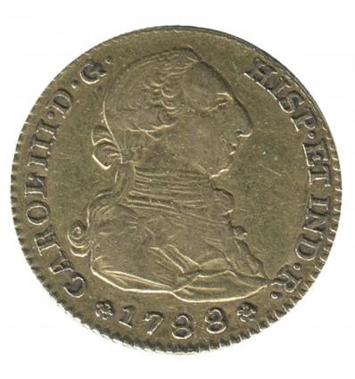 2 Escudos Charles III Espagne