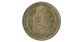 4 Forints / 10 Francs - Hongrie