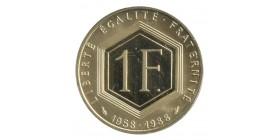 1 Franc Charles de Gaulle