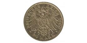 20 Marks Guillaume II - Allemagne Wurtemberg