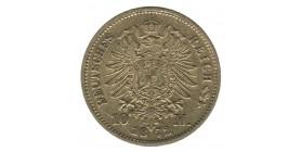 10 Marks Guillaume Ier - Allemagne Prusse