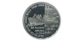 25 Florins - Aruba Argent